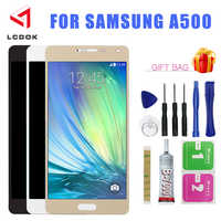 Adjustable Brightness LCD For Samsung Galaxy A5 2015 Display A500 A500F LCD Display Touch Screen Digitizer Assembly Panel Parts