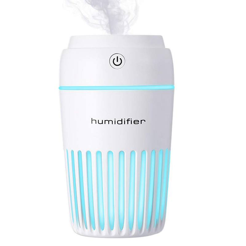 Aromatherapy Essential Oil Diffuser,300Ml Portable Usb Ultrasonic Cool Mist Humidifier Auto Shut-Off And 7 Fascinating Led Night