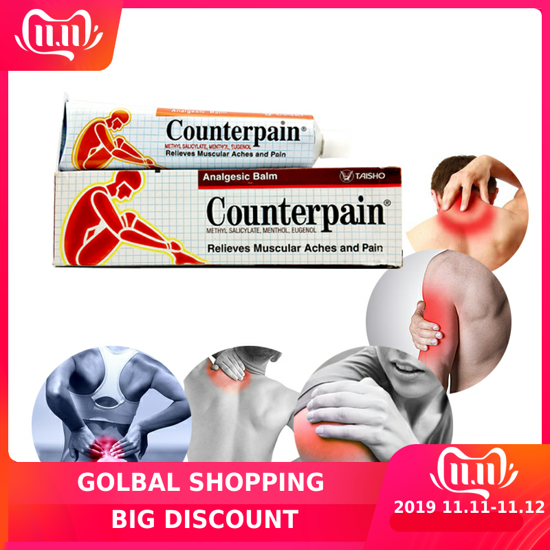 Thailand Counterpain Analgesic Balm Relieves Muscle Aches And Pain Relieve Pain Balm Rheumatoid Arthritis  Ointment