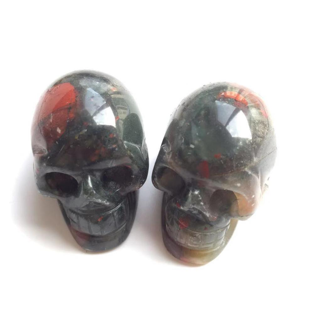 """Natural Hand Carved Dog Natural Crystal Healing Gemstone Carving Specimen 2/"""""""