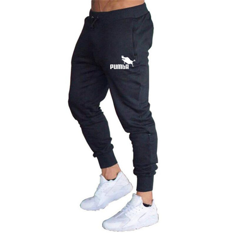 2020 Spring Men's Fitness Training Running Pants Men's Jogging Pants Slim Football Sports Pants Cotton Sports Running Tights