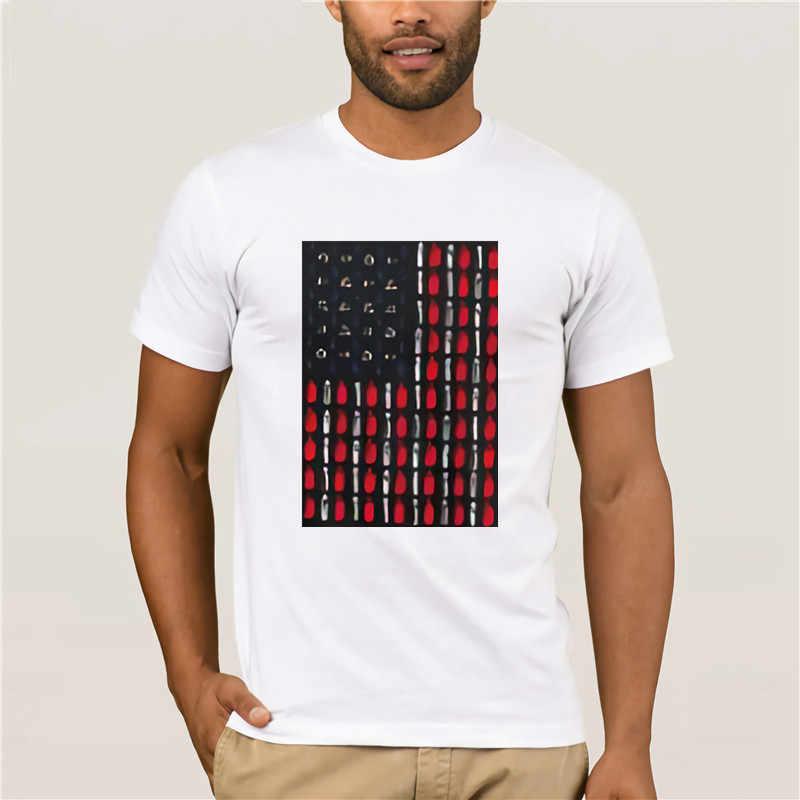 2020 amerikan bayrağı tasarım vaping öğeleri erkek jersey tişörtlü