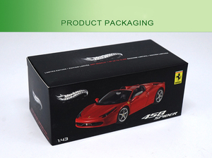 Image 5 - 1:43 High Meticulous Roadster 458 SPIDER Alloy Model Car Static Metal Model Vehicles