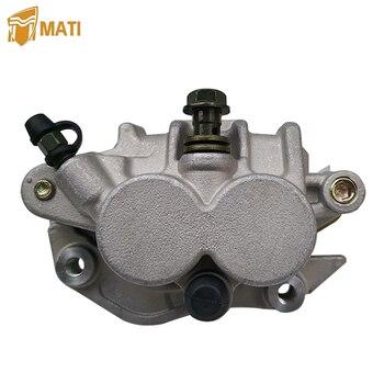 цена на Front Brake Caliper Assembly for Honda CR125R CR250R CRF250RX CRF450R CRF450X CR CRF 125R 250R 250X 450X 450R 450 RWE with Pads