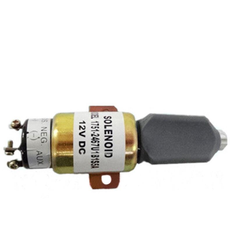 Fuel Shut Off Solenoid SA-4259 , SA-4259-12 1751-12A6U1B1S5 (12V 2 terminals)