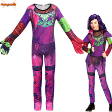 Kids Costume Mal Costumes Halloween for  Jumpsuits Audrey Cosplay Dress Mermaid Tail Fantasia Girls