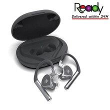 Гибридная Bluetooth гарнитура KZ E10 1DD + 4BA, наушники вкладыши с крючком, решение QCC3020, Bluetooth гарнитура ZSX ZSNPRO ZS10PRO C12 S1D