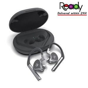 Image 1 - KZ E10 1DD + 4BA היברידי Bluetooth אוזניות אוזן ב Ear אוזניות QCC3020 פתרון Bluetooth אוזניות ZSX ZSNPRO ZS10PRO C12 S1D