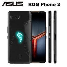 Оригинальный Смартфон Asus ROG Phone 2 ZS660KL, 12 Гб, 512 ГБ, Snapdragon855 + 6,59 дюйма, 120 Гц, 1080x2340P, 6000 мАч, 48 МП, NFC