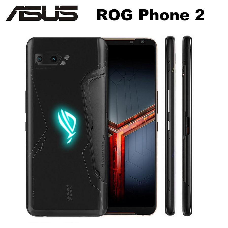 Original ROG teléfono 2 Asus ROG teléfono II ZS660KL teléfono móvil 12GB 512GB Snapdragon855 + 6,59