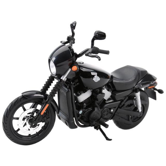Maisto 1:12 2015 רחוב 750 למות יצוק כלי רכב אספנות תחביבים צעצועי דגם אופנוע