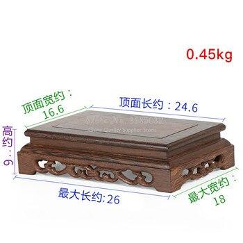 Qualität Holz Tee Tisch Palisander Carving Dekoration Basis Vase Buddha Kistler Display Rack Multi-gebrauch Rechteck Kleine Kaffee Tisch