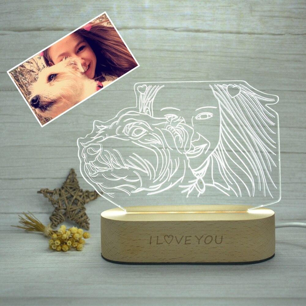 Customized Photo 3D Lamp