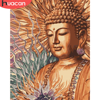 HUACAN DIY Pictures By Number Buddha Kits Painting By Numbers Portrait Drawing On Canvas Hand Painted Paintings Home Decor
