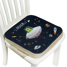 Pillow Cushion Baby-Seat Chair Breathable Cartoon 5cm Heightening Hard Office Primary-School-Student