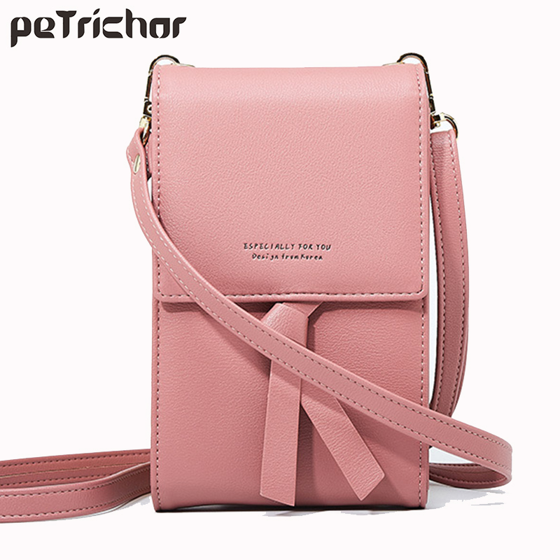 Mini Crossbody Bags For Women Handbags Clutch Mobile Phone Bag Wallets Female PU Leather Fashion Shoulder Bag Ladies Coin Purses