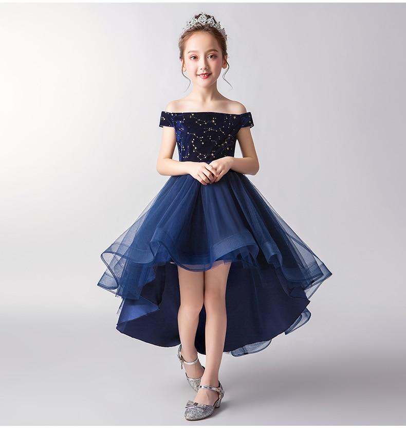 Prom Flower Girl Dress Kid Party Pageant Princess Formal Wedding Bridesmai