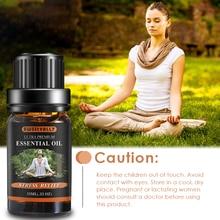 Sweetvally 1pc Organic Essential Oils Herbal Drops Body Reli