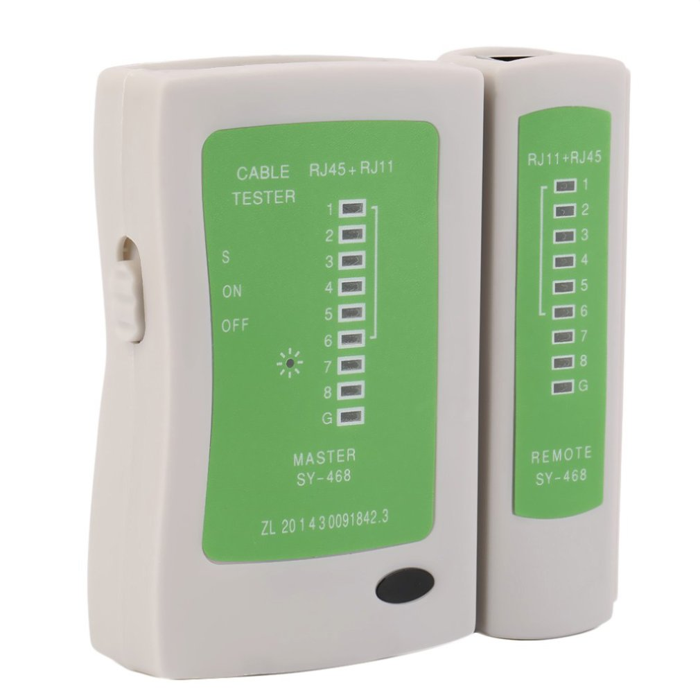 Professional Network Cable Tester RJ45 RJ11 RJ12 CAT5 UTP LAN Cable Tester Detector Remote Test Tools Networking