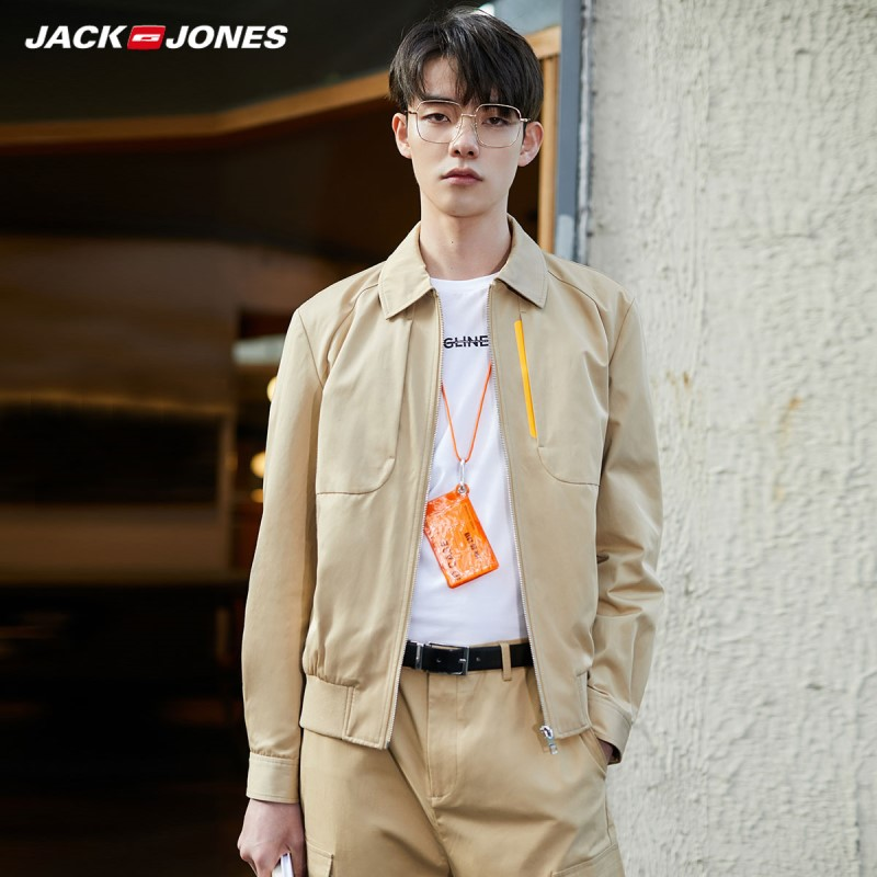 JackJones Men's New Arrival Casual Shot Cotton Jacket Menswear|Streetwear 220121537