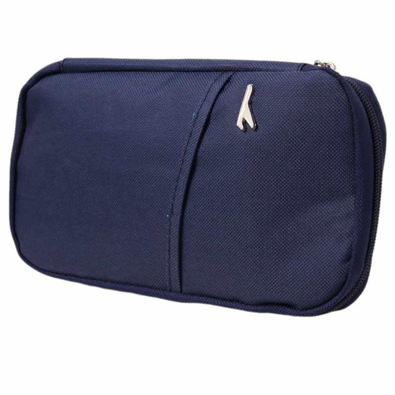 Seyahat aksesuarları saklama poşetleri cüzdan pasaport kredi kimlik kartları bilet sahibi çok renkli çanta çantası Oxford PA640638