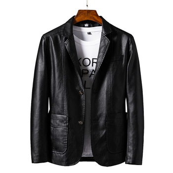 New Men's Leather Jackets Autumn Casual Motorcycle PU Jacket Biker Leather Male Bomber Leather Jackets Coats 6XL Brand Clothing mens leather jackets 2020 autumn winter new casual motorcycle pu faux leather jacket male biker leather coats windbreaker jacket