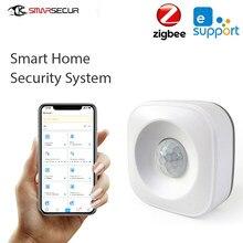 Ewelink ZigBee PIR capteur de mouvement 120 degrés sans fil détecteur infrarouge sécurité alarme capteur contrôle pour iOS8.0/Android4.0