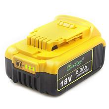 Get more info on the Waitley DCB184 18V 5.0Ah MAX XR Battery Replacement for DeWalt DCB180 DCB181 DCB182 DCB200 18Volt Battery