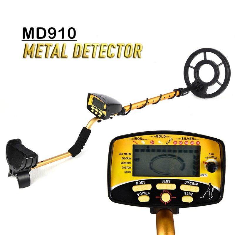 MD910 wysokiej czułości ręczny wykrywacz metali podziemny wykrywacz metali wykrywacz metali Gold Digger poszukiwacz skarbów