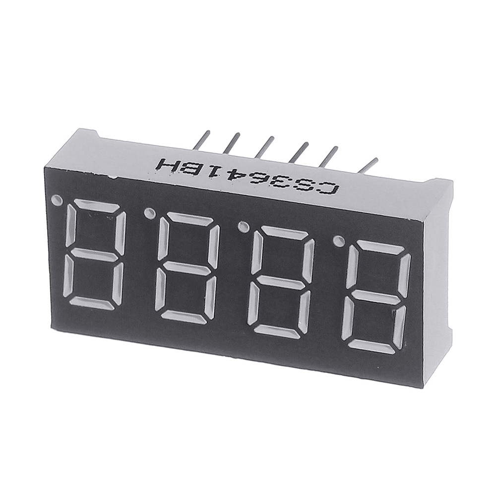 1PC 0.36Inch 7 Segment 4 Digit Common Anode 0.36 Inch RED LED Digital Display