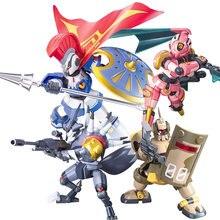 Original bandai guerras lbx 001 002 003 aquiles kunoichi o imperador aquiles odin o imperador anubis deqoo figurals brinquedos
