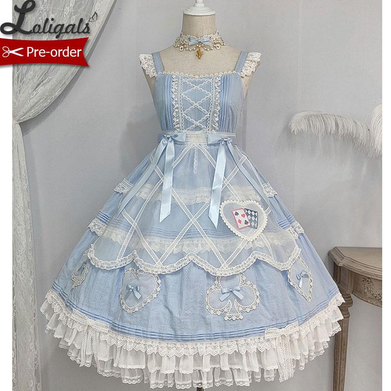 Lady Alice ~ Sweet Lolita JSK Dress by Alice Girl ~ Pre-order