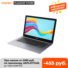 CHUWI HeroBook Pro+ Ноутбук 13,3 дюйма, 3k экран Intel Celeron J3455, 8GB RAM 128GB ROM, Windows 10 система, Bluetooth 5,0