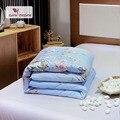 Домашнее Постельное белье «медленная мечта»  роскошное одеяло с одной двойной королевой  здоровое одеяло  наполнитель  1 шт.  100% натуральный ...
