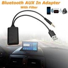 Автомобильный беспроводной bluetooth-модуль музыкальный адаптер вспомогательный aux-приемник аудио Usb 3,5 мм разъем для Bmw E90 E91 E92 E93