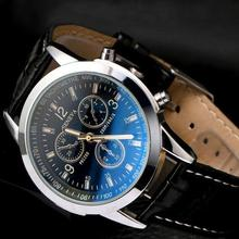Fashion Geneva Watches Men Sports Watches Leather Band Quartz Watches hodinky man Relogio Masculino montre homme uhr herren