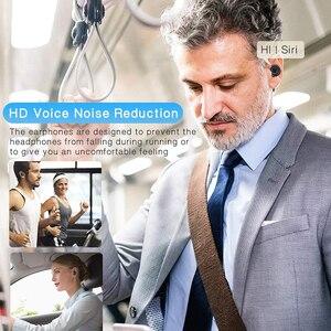 Image 5 - X2 אלחוטי Bluetooth אוזניות 5.0 Eabuds IPX7 עמיד למים בס AAC & SBC אוזניות QCC3020 Apt x 5.0 TWS אוזניות
