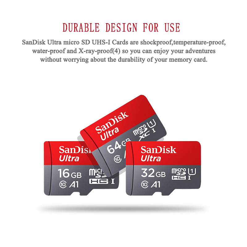 Sandisk карта памяти Micro SD, класс 10, 128 ГБ, 200 ГБ, 256 ГБ, 400 гб-4