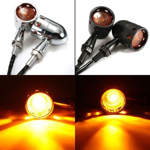 par de lanternas seta para motocicleta