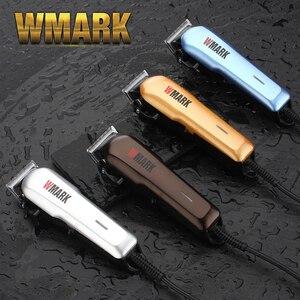 Image 1 - WMARK Professionele Bedrade Tondeuse Trimmer 6000 6500rm DC motor Scherp en licht gratis blade set met gids kam NG 555