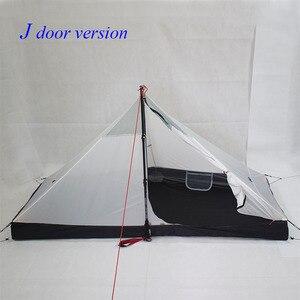 Image 3 - 340 גרם J דלת/390 גרם T דלת עיצוב ארבע עונות inner210 * 95/75*112cm אוהל