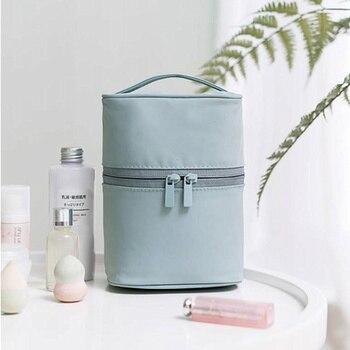 UOSC Makeup Bag Women Bags Men Large Waterproof Nylon Travel Cosmetic Bag Organizer Case Necessaries Make Up Wash Toiletry Bag 3