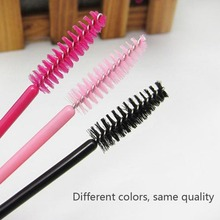 50 PCS Eyelash Brushes Makeup Brushes Disposable Mascara Wands Applicator Eye Lashes Cosmetic Brush Makeup Tools недорого