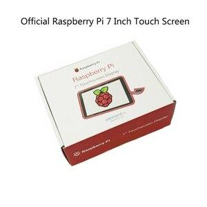 Image 3 - מקורי רשמי פטל Pi 7 אינץ TFT LCD מגע מסך מגן צג תצוגת 800*480 סטנדר ערכת