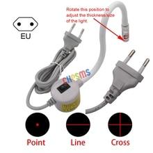 1PCS EU Plug Magnetic base gooseneck Red Positioning Laser Light FOR Sewing & Cutting  Machine