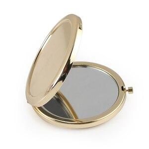 Image 4 - 20pcs Personalizzato Battesimo Favore Specchio Della Tasca Oro Specchio Compatto Prima Comunione Souvenir Battesimo Battesimo Regalo Per Gli Ospiti