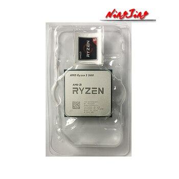 AMD Ryzen 5 3600 R5 3600 3.6 GHz Six-Core Twelve-Thread CPU Processor 7NM 65W L3=32M  100-000000031 Socket AM4 new but no fan 2