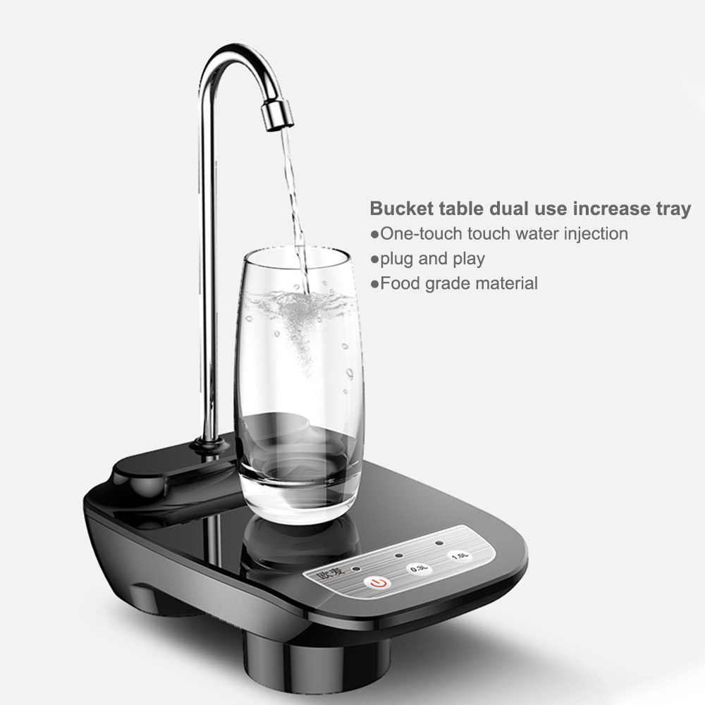 Listrik Dispenser Air Nirkabel Portabel Listrik Otomatis Pompa Air Ember Botol Dispenser USB Rechargeable Pompa Air