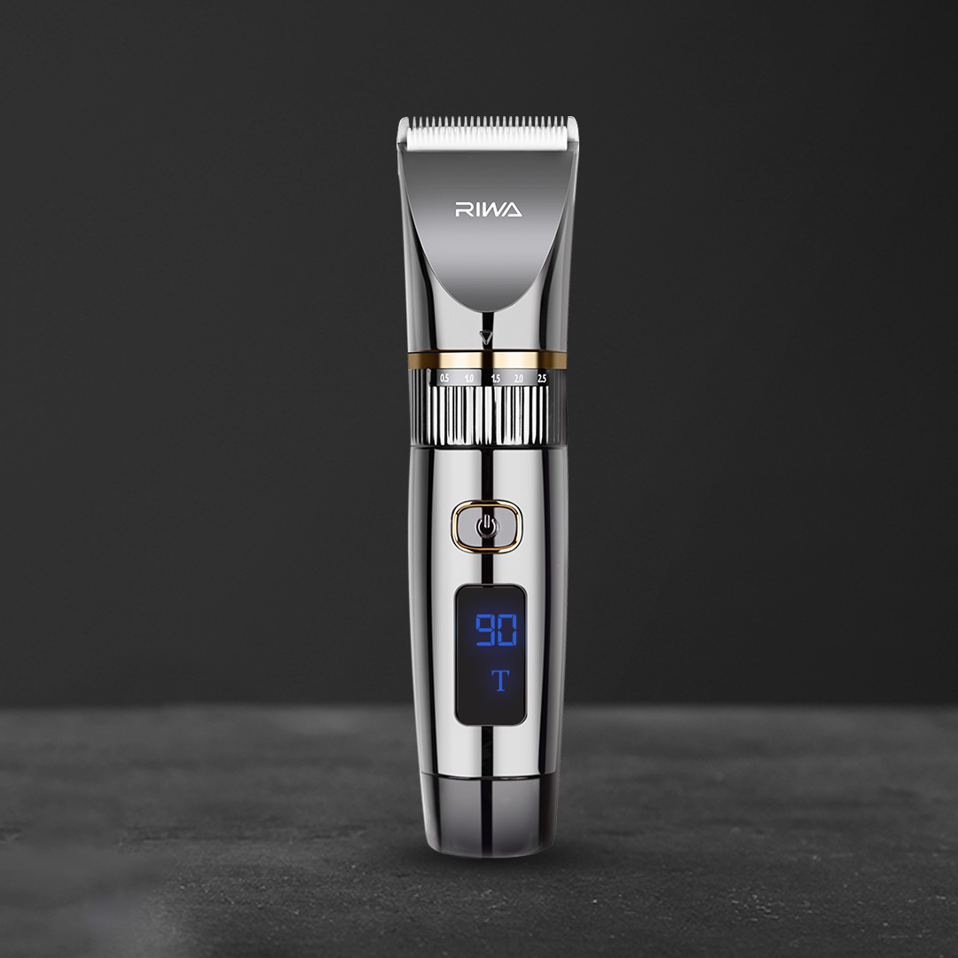 New Xiaomi Riwa electric hair clipper RE-6501T wireless professional barber full Set for Man barber hair clipper Led display
