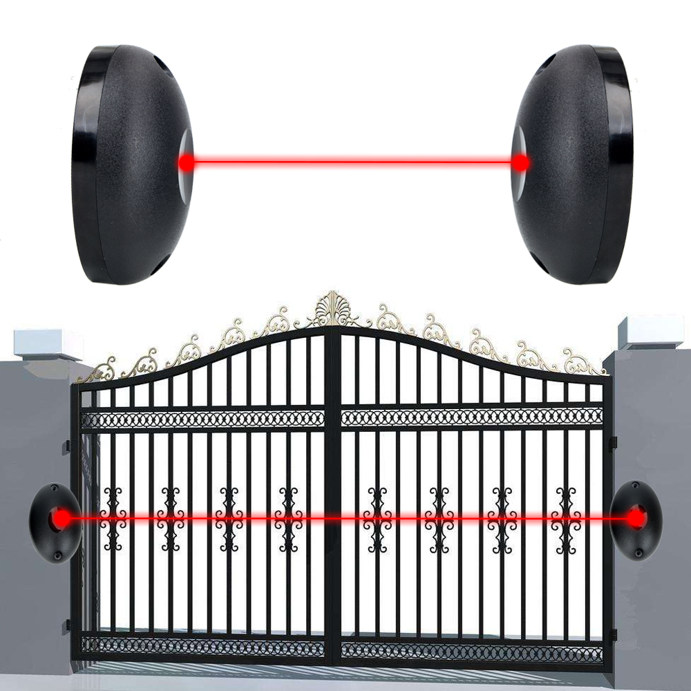For Gates Doors Windows Against Hacking System External Positioning Alarm Detector Single Beam Infrared Radiation Sensor Barrier